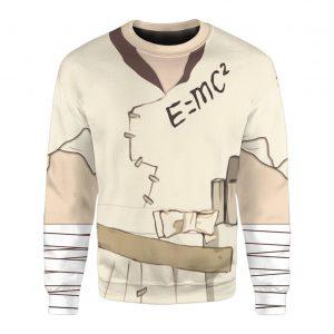 Anime Dr.Stone Ishigami Senku Custom Sweatshirt Sweatshirt / S Official Dr. Stone Merch