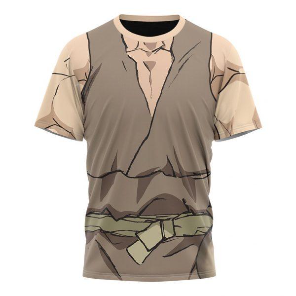 Anime Dr.Stone Oki Taiju Custom T-Shirt T-Shirt / S Official Dr. Stone Merch