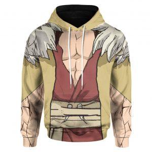 Anime Dr.Stone Shishio Tsukasa Custom Hoodie Hoodie / S Official Dr. Stone Merch