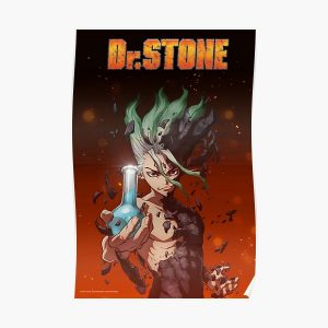 Dr stone manga anime poster Poster RB2805 product Offical Doctor Stone Merch