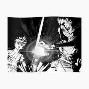 Dr  Stone Manga Poster RB2805 product Offical Doctor Stone Merch
