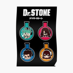 DR. STONE: ALL CHARACTERS CHIBI  Poster RB2805 product Offical Doctor Stone Merch