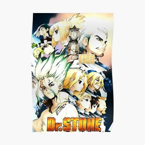 Dr.Stone Ishigami Village Poster RB2805 product Offical Doctor Stone Merch