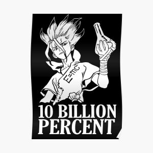 Dr. STONE - Zenku Poster RB2805 product Offical Doctor Stone Merch
