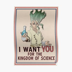 Dr. STONE KINGDOM OF SCIENCE Poster RB2805 product Offical Doctor Stone Merch
