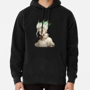 Senku (Dr. Stone) Pullover Hoodie RB2805 product Offical Doctor Stone Merch