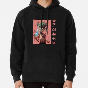 Dr. Senku Ishigami- Dr. Stone Anime Pullover Hoodie RB2805 product Offical Doctor Stone Merch