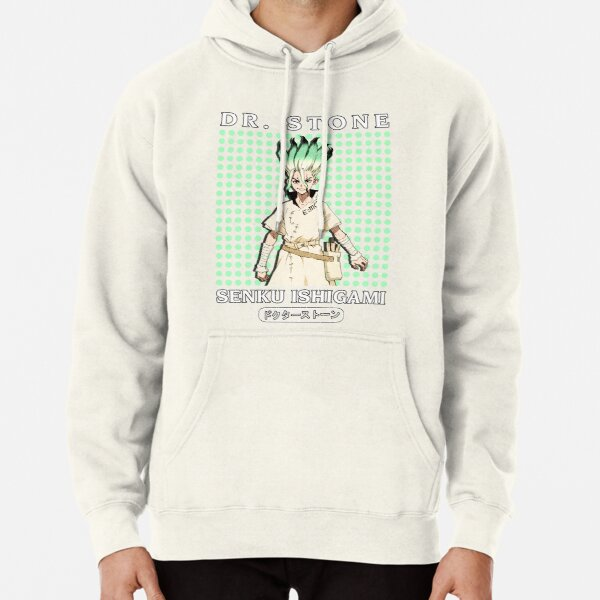 Senku Ishigami In Much Circle Pullover Hoodie RB2805 product Offical Doctor Stone Merch