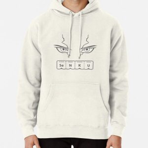 Dr Stone Senku Eyes Pullover Hoodie RB2805 product Offical Doctor Stone Merch