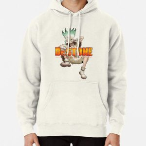 Dr. Stone anime/manga design with Senku  Pullover Hoodie RB2805 product Offical Doctor Stone Merch