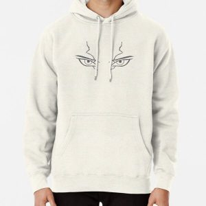 Dr Stone: Senku's eyes minimalist Pullover Hoodie RB2805 product Offical Doctor Stone Merch