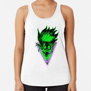 Dr Stone - Senku Ishigami 3 Racerback Tank Top RB2805 product Offical Doctor Stone Merch