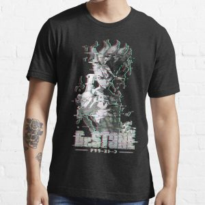 Dr. Stone Glitch Essential T-Shirt RB2805 product Offical Doctor Stone Merch