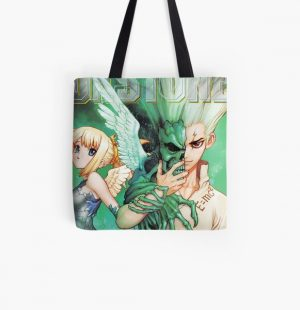 Dr. Stone All Over Print Tote Bag RB2805 product Offical Doctor Stone Merch