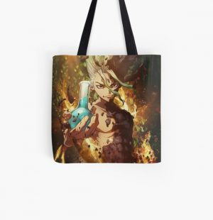 Doctor Stone All Over Print Tote Bag RB2805 product Offical Doctor Stone Merch