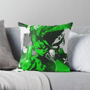 Dr. Stone Throw Pillow RB2805 product Offical Doctor Stone Merch