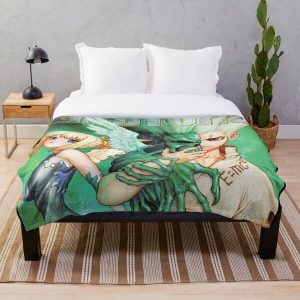 Dr. Stone Throw Blanket RB2805 product Offical Doctor Stone Merch