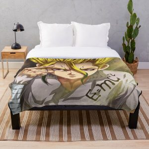 Doctor Stone Throw Blanket RB2805 product Offical Doctor Stone Merch