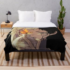 Asagiri Gen - Dr. Stone Throw Blanket RB2805 product Offical Doctor Stone Merch